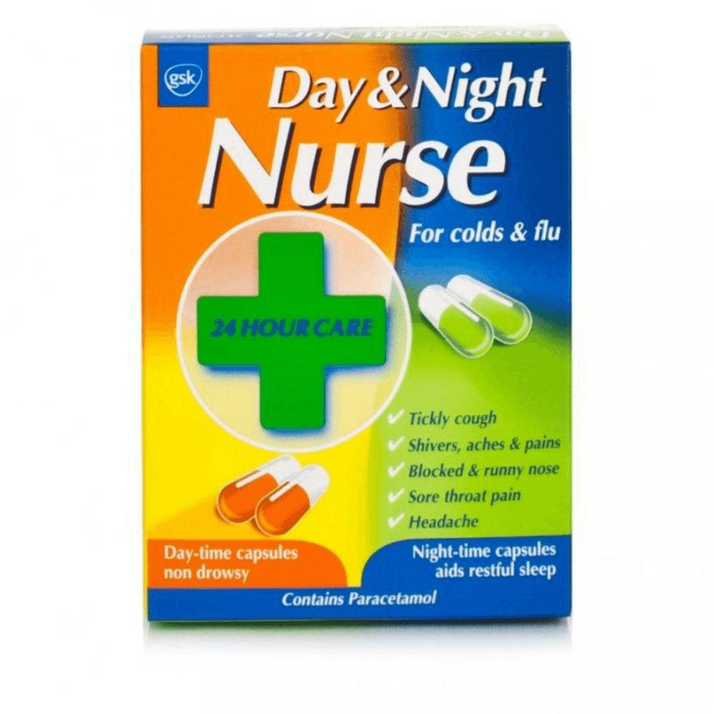 Day & Night Nurse Capsules x 24 - Medicines from Evans ...