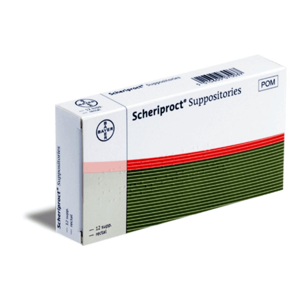 Scheriproct Suppositories X 12 Online Consultations From
